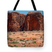 Massive Sandstone Cliffs Valley Of Fire Tote Bag