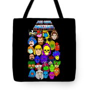 Masters Of The Universe Collage Tote Bag