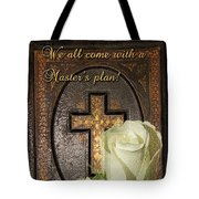 Master's Plan Tote Bag