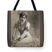Mata Hari Sketch Tote Bag