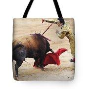 Matador El Cid II Tote Bag