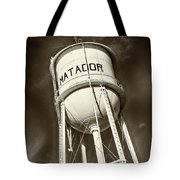 Matador Texas Water Tower Tote Bag