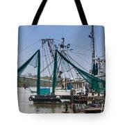 Matagorda Fishing Boats Tote Bag