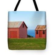 Matanaka Historic Site - Red Barn Tote Bag
