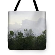 Matching Sky Lines Tote Bag