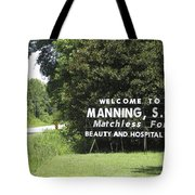 Matchless Manning Tote Bag