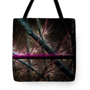 Matchstick Madness Tote Bag
