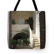 Matera, Italian Courtyard Tote Bag