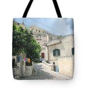 Matera's Colorful Laundry Tote Bag