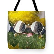 Materials And Eyeglasses Tote Bag