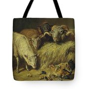 Maternal Solicitude By Arthur Fitzwilliam Tait Tote Bag