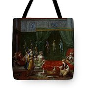 Private Chamber Of An Aristocratic Turkish Woman Tote Bag