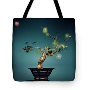 Math Bonsai 3 Tote Bag