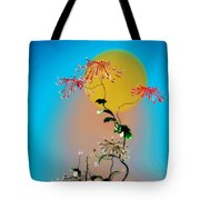 Math Chrysanthemum 2 Tote Bag