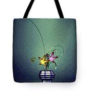 Math Flower 5 Tote Bag