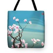 Math Magnolia Tote Bag