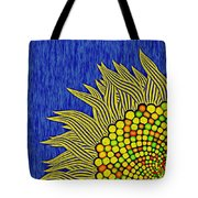 Math Sunflower1 Tote Bag