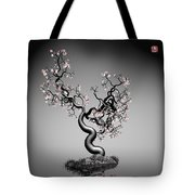 Math Tree 12 Tote Bag by GuoJun Pan