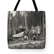 Mathew Brady Wagon Tote Bag