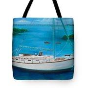 Matilda In The Florida Keys Tote Bag
