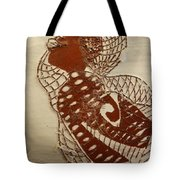 Matildas Smile - Tile Tote Bag