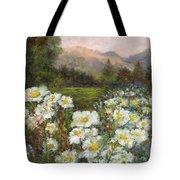Matilija Poppies Tote Bag