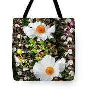 Matilija Poppies Tote Bag