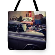 Matinees And Trucks Tote Bag