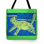 Matisse's Cat In Reverse Tote Bag