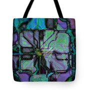 Matrices In Glass Houses Tote Bag