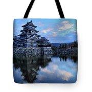 Matsumoto Castle 1182 Tote Bag