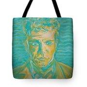 Matt Damon Tote Bag