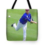 Matt Harvey New York Mets Tote Bag