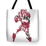 Matt Ryan Atlanta Falcons Pixel Art 5 Tote Bag