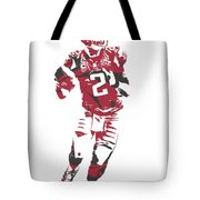 Matt Ryan Atlanta Falcons Pixel Art 6 Tote Bag