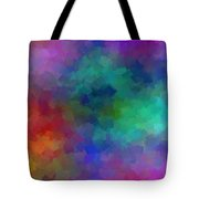 Matter And Space Tote Bag
