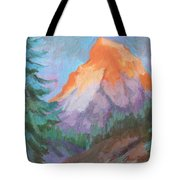 Matterhorn Sunrise Tote Bag