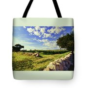 Matunuck Corn Fields Tote Bag