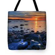 Maughold Beach Tote Bag