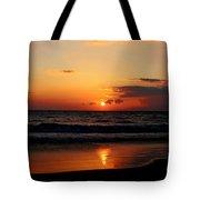 Maui Beach At Sunset Tote Bag