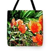 Maui Floral Tote Bag