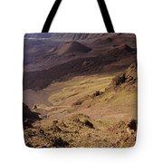 Maui, Haleakala Crater Tote Bag