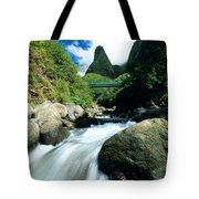 Maui, Iao Needle Tote Bag