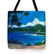 Maui Inlet Tote Bag