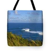 Maui, Jaws Landscape Tote Bag
