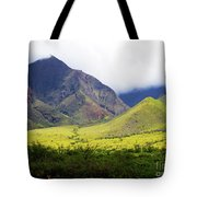 Maui Mountains Tote Bag