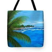 Maui Palm Tote Bag