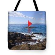 Maui Sailing Canoe Tote Bag