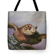 Maui Sea Turtle Tote Bag