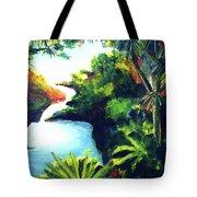 Maui Seven Sacred Falls #184 Tote Bag
